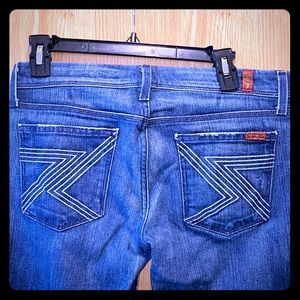 Denim Jeans, used.